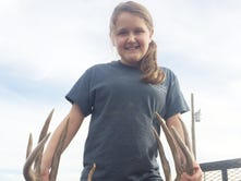 Friday the 13th doesn't stop success for young huntress