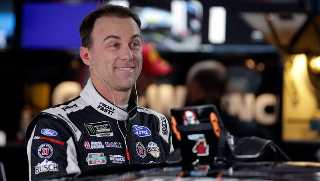 Kevin Harvick will lead a driver broadcast crew for Fox.