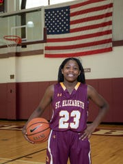 Ber'Nyah Ward-Mayo of St. Elizabeth girls basketball is the Delaware Online Athlete of the Week for Week 6 after reaching 1,000 career points.