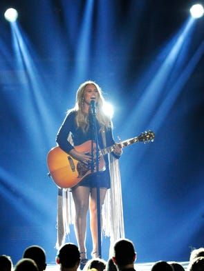 Miranda Lambert performs during the 52nd Academy of