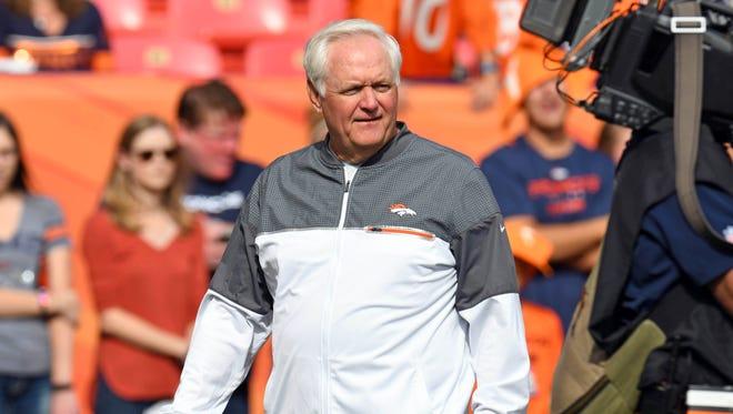 Broncos defensive coordinator Wade Phillips was key to the team's Super Bowl 50 win last season.