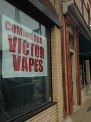 Victor Vapes will soon open on Main Street in Victor.