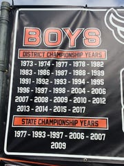 A list of championships won by the Sprague boys tennis