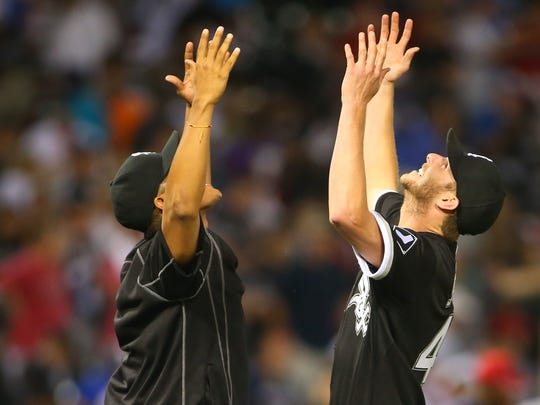 Chris Sale, along with fellow left-handers Jose Quintana