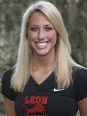 Former Leon volleyball star Katie Johnson was on staff with the Lions as an assistant and became Florida High's head coach last year. She has accepted a position with Lincoln to become its head coach.
