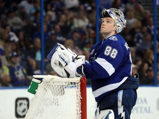 USP NHL: OTTAWA SENATORS AT TAMPA BAY LIGHTNING S HKN TBL OTT USA FL
