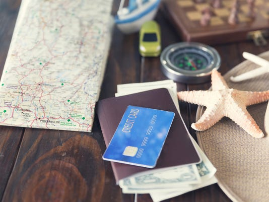 map, chessboard, hat, compass, passport, credit card, banknote,