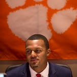 Deshaun Watson denies 'throwing shade' at Jackson