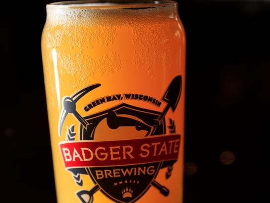 Beermosa is made with Badger State Brewing's Walloon