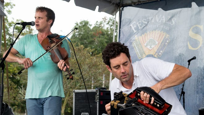 File photo Louis and Andre Michot and the Lost Bayou Ramblers perform Wednesday at Oil Center After Hours..