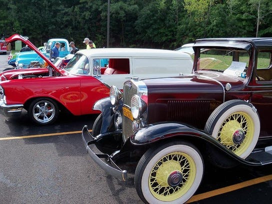 Slassic and exotic cars will be on display in Hammondsport