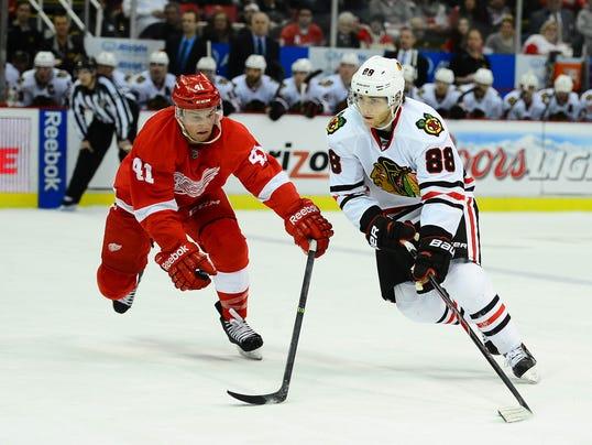 1-22-14 red wings blackhawks