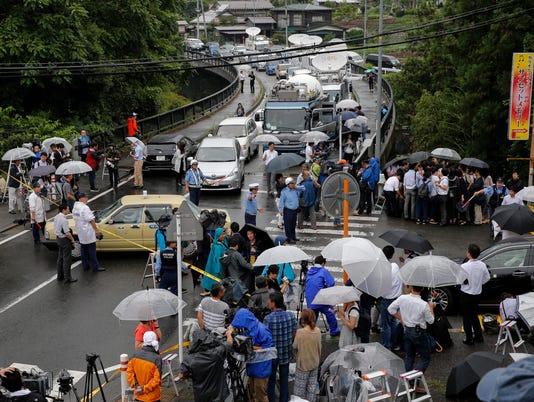 EPA JAPAN STABBING CLJ CRIME POLICE JPN KA