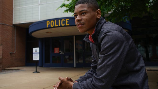 Twenty one-year-old Anthony Parker changed his mind on joining the police department because of the current climate of suspicion around officers. Police agencies report challenges with recruiting in the current climate.