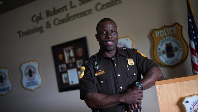 Vaughn Bond, a 25-year veteran of the New Castle Police Department, has been named interim chief of police for the county.