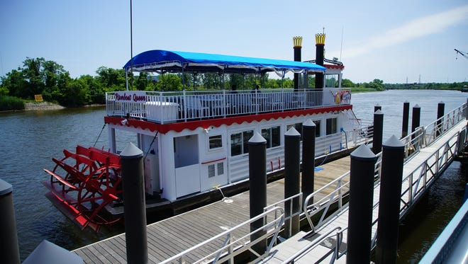 Brunch and dinner cruises on Wilmington's Riverboat Queen begin May 13 and run through September.