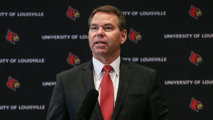 A tumultuous year was marked by discord for Louisville athletics