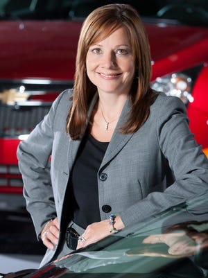 Mary Barra, General Motors' senior vice president for product development, will become the first female chief executive of a major automaker.
