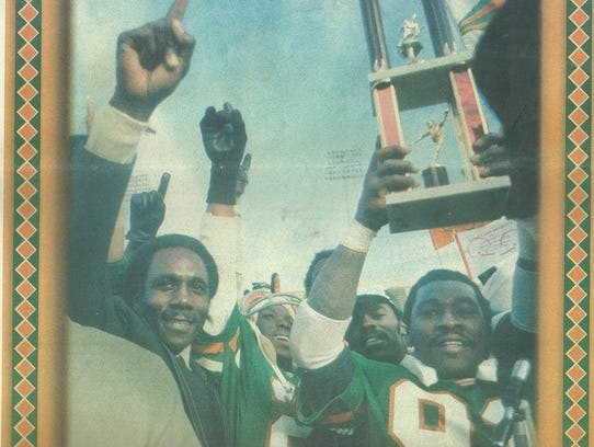The FAMU Rattlers won the NCAA Division 1AA title in