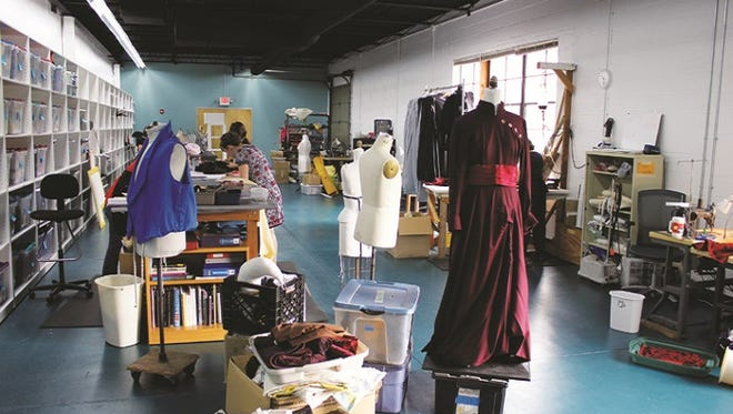 """Go backstage at the NJ Shakespeare Company on Saturday while rehearsals are being held for """"Tartuffe."""""""