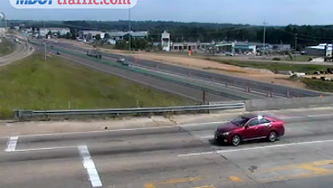 The I-55 northbound exit at Siwell Road in Byram is now open.