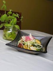 Grilled vegetable salad at HoQ in Des Moines on Thursday,