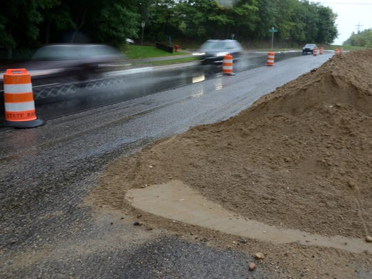 The city of Novi and its contractors continue to work