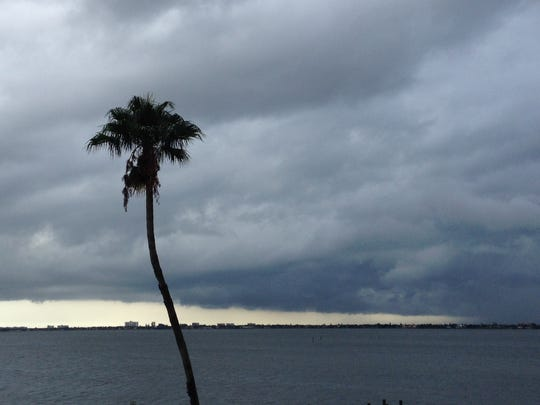 File: Storm clouds roll in.