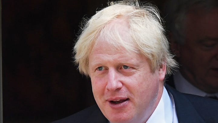 Boris Johnson resigns as UK foreign secretary, hours after top Brexit official quits