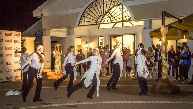 In this Record file photo, people perform during the event Art Tapas! at the Cultural Center at Ponte Vedra Beach.