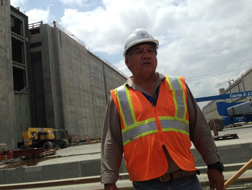 Luis Ferreira, a spokesman with the Panama Canal Authority,