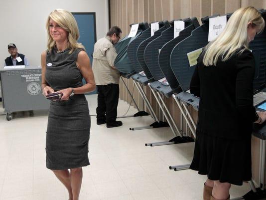 AP Texas Elections
