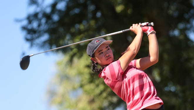 Madison Walker, one of five seniors on the Palm Desert High School golf team this year, has already signed the to play Division I college golf.