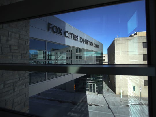 The Fox Cities Exhibition Center opened in January 2018.