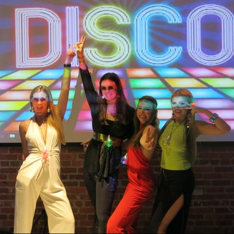 Groovy Debs paid homage to the 1970s at gala soiree