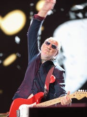 The Who perform at Desert Trip in Indio, October 9, 2016