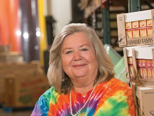 Patricia Beebe is CEO of the Food Bank of Delaware