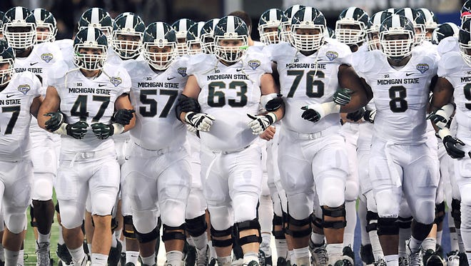 MSU enters the 2015 season with dreams of a Big Ten championship and spot in the college football's four-team playoff.