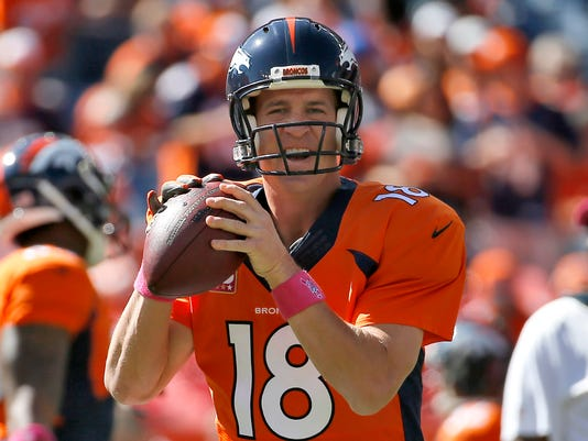 Peyton Manning joins Brett Favre with 500 TD passes