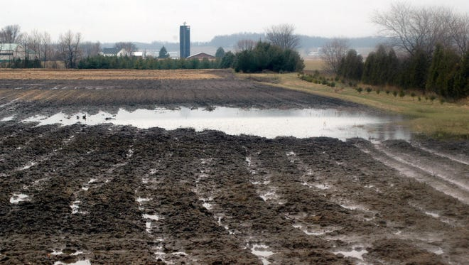 Cold, muddy, saturated soils and continued rain has prevented fieldwork across much of Wisconsin.