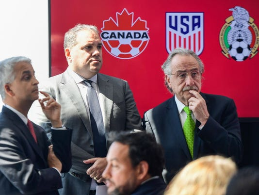 USP SOCCER: US SOCCER-PRESS CONFERENCE S SOC USA NY