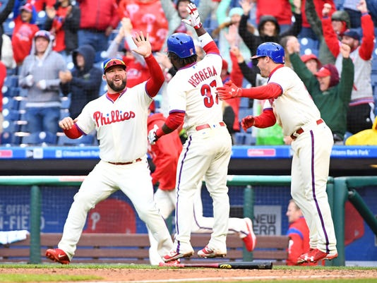 ae4fc3f33ab Philadelphia Phillies rally to beat Washington Nationals in 10 innings