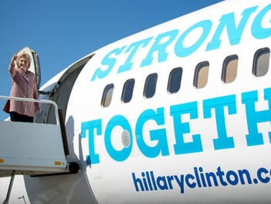 AP: Hillary Clinton returns to campaign trail