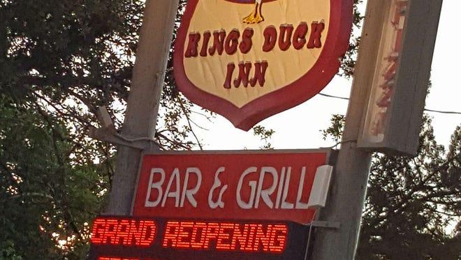 """Kings Duck Inn got quite the welcome wagon June 16, 2017: Spike TV's Jon Taffer of """"Bar Rescue"""" filmed the """"reveal"""" episode of Kings Duck Inn. Taffer helped the longtime bar on Merritt Island with a remodel."""