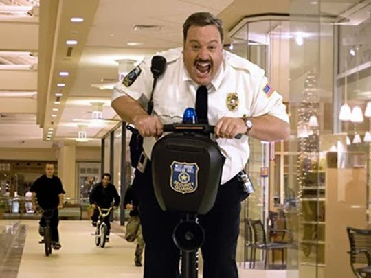 Kevin James returns in the title role for Paul Blart: Mall Cop 2.
