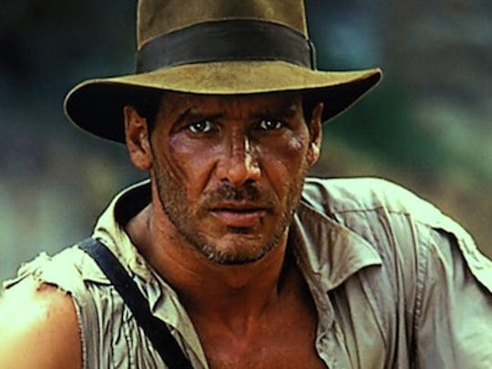 Harrison Ford as the iconic Indiana Jones (studio file photo)