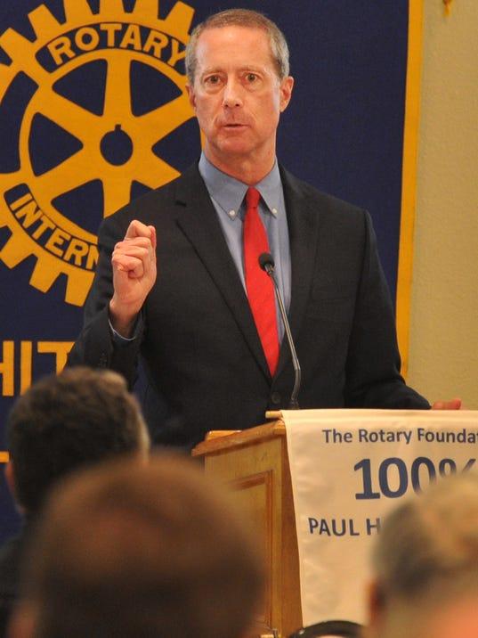 Thornberry speaks to Rotary Club of Wichita Falls