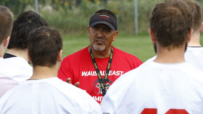 Tom Tourtillott has stepped down as the Wausau East football coach after four seasons with the program.