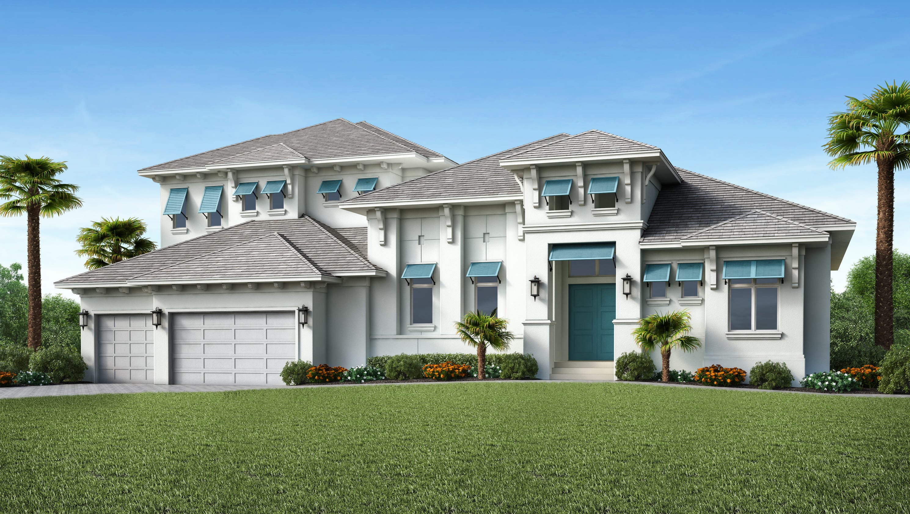 Stock signature homes building two models on marco island for Sig homes
