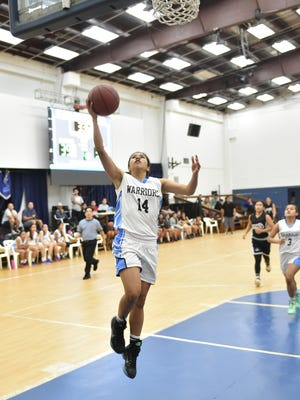 Senior Joylyn Pangilinan scored, passed and defended for the St. Paul Christian Warriors as she earned the 2015 All-PDN MVP title.